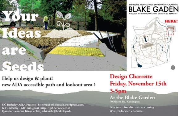 Blake Garden design charrette